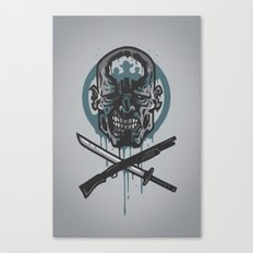 Dead Men Walking Canvas Print