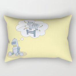Do Benders dream of electric sheep? Rectangular Pillow