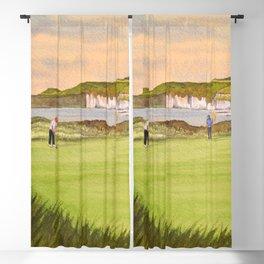 Royal Portrush Golf Course 5th Hole Blackout Curtain