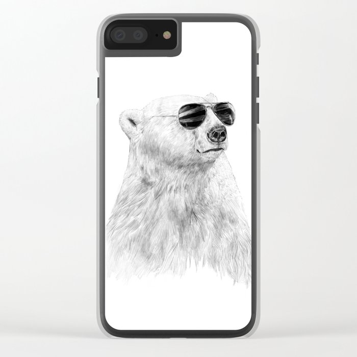 Don't let the sun go down Clear iPhone Case