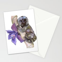 Pygmy Marmoset (Small Monkey) Stationery Cards