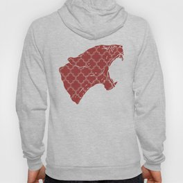 PANTHER SILHOUETTE HEAD WITH PATTERN Hoody