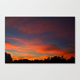 The Sunrise of Dreams Canvas Print