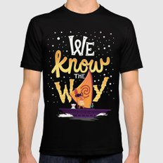 We know the way Black Mens Fitted Tee X-LARGE