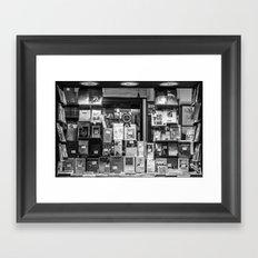 Italian Bookshop Framed Art Print