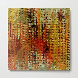 Portofino Abstract Metal Print