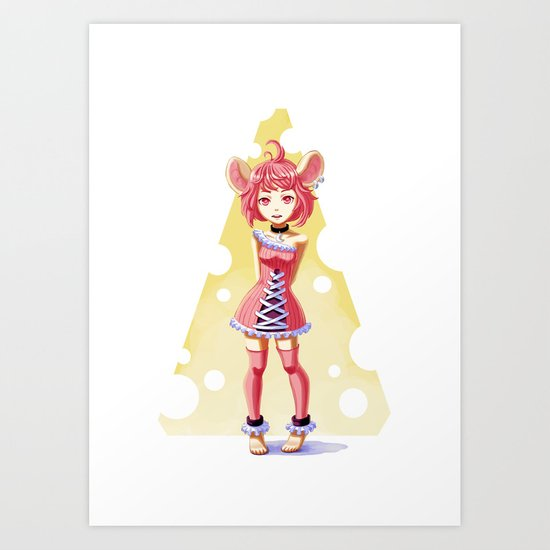 Little Mouse Art Print