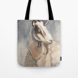 Goats Are Nuts Tote Bag