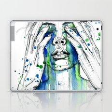 Don't fight my tears 'cause they feel so good. Laptop & iPad Skin