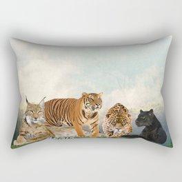 Cat Ageis Rectangular Pillow