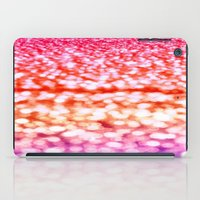 glitter iPad Cases featuring Sunset Glitter Sparkles by WhimsyRomance&Fun