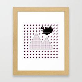 Reykjavik Boulevard #16 Framed Art Print