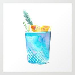Cocktail no 1 Art Print