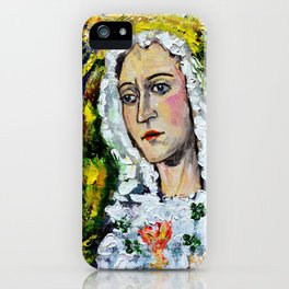 María Santísima de la Esperanza Macarena Crowned Juan Manuel Rocha Kinkin iPhone Case