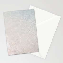 Translucent Ocean Waters Stationery Cards