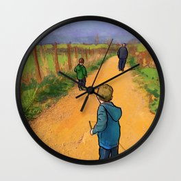 The Road Forward Wall Clock