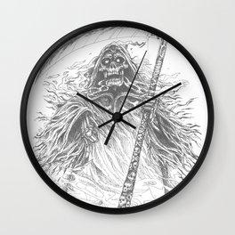 Grimm Reaper Wall Clock