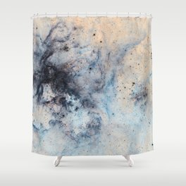 Entropy Ether Shower Curtain