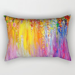 Symphony of flowers Rectangular Pillow