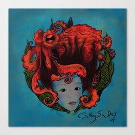 Octopu Canvas Print