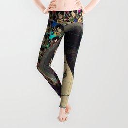 Blotter Art Ukiyo-e Leggings