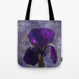 Captivating Iris Tote Bag
