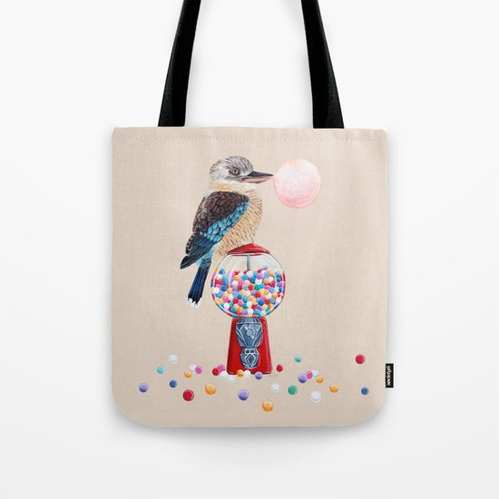 Kookaburra Gumball Machine Tote Bag