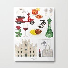 Milan, Italy Metal Print