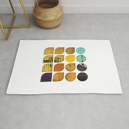 Cold Comfort Collage — Drippy Tag Rug
