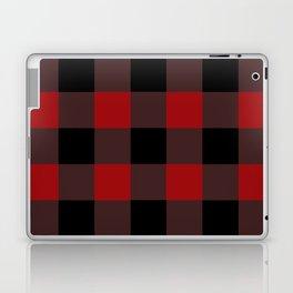 Red Buffalo Plaid Laptop & iPad Skin