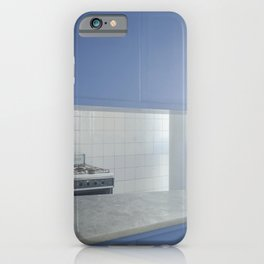 Blue Mania in Casa Curutchet iPhone Case