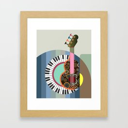Music Theory II Framed Art Print