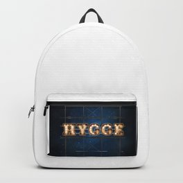 Hygge -  Wall-Art for Hotel-Rooms Backpack