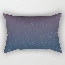 arabic tashkeel grediant Rectangular Pillow