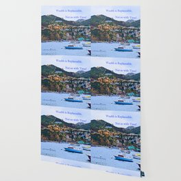"""Catalina Harbor""/ ""Time"" Wallpaper"