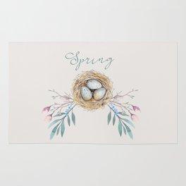 spring nest Rug