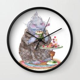 Truffle mole Wall Clock