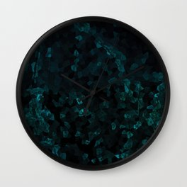 Stone Turquoise pattern Wall Clock
