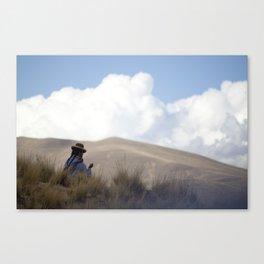 Peruvian Countryside Canvas Print