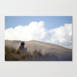 Peruvian Countryside Canvas Print