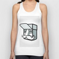 the dude Tank Tops featuring DUDE by Serhiy FE