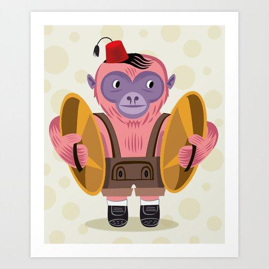 The Monkey Boy Art Print