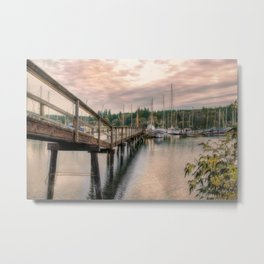 Bainbridge Harbor Metal Print