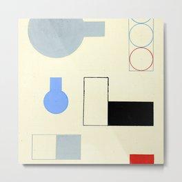 Sophie Taeuber Arp Composition II Metal Print