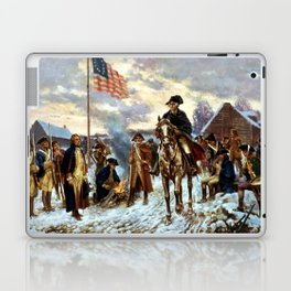 Washington At Valley Forge Laptop & iPad Skin