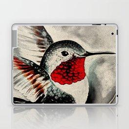 Hummingbird Comic Red Laptop & iPad Skin