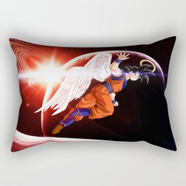 goku winged Rectangular Pillow