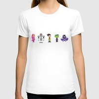 teen titans T-shirts featuring Teen Titans Go by Adrian Mentus