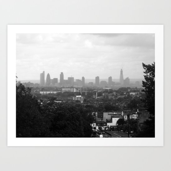 The Big Smoke.  Art Print