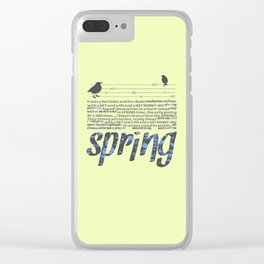 In Springtime Clear iPhone Case